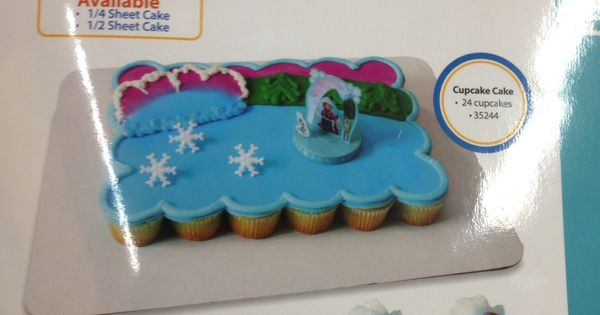 Frozen Cake And Cupcakes At Walmart Kora S Birthday