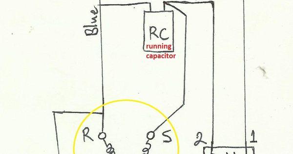 diagram diagram air compressor capacitor wiring diagram
