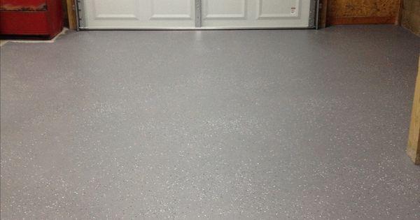Behr 1 Part Epoxy Garage Floor Paint With Metallic Flakes