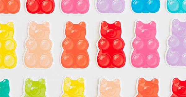 Free Printable Gummy Bears Oh Happy Day DIY