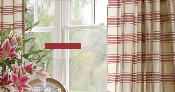 Country Curtains Catalog Greenwich Plaid Panels