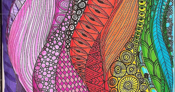 Doodle 16 Color Wheel Projects Zentangle And Color Wheels