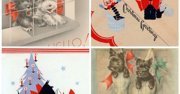 Scottie Dog Cards