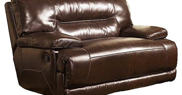 The Exhilaration Chocolate Oversized Recliner From Ashley Furniture HomeStore AFHScom