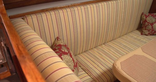How To Make Salon Cushions For Your Boat Inside The Boat