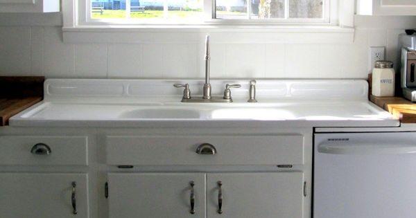 Old Farm Sink Drainboard