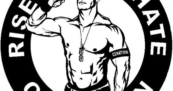 John cena rise above hate cenation stickers pinterest, i love u coloring pages
