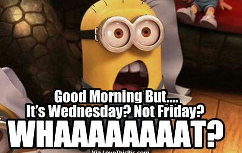 Good Morning Wednesday Quotes Funny