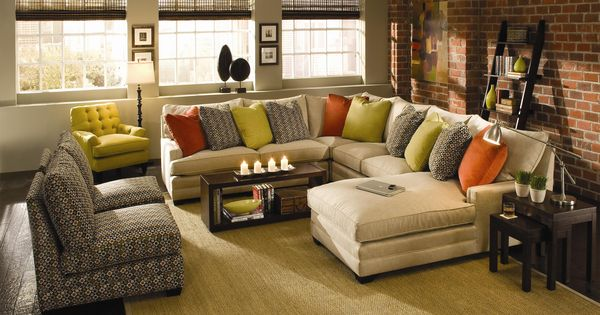 Margo Extra Wide Sectional Sofa By Sam Moore Knoxville