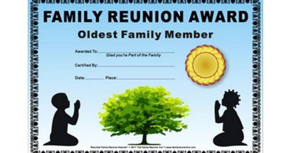 Templates Reunion Theme Family