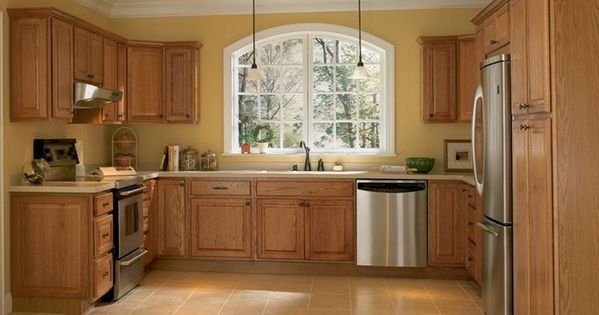 2015 Kitchen Wall Paint Colors With Oak Cabinets Google