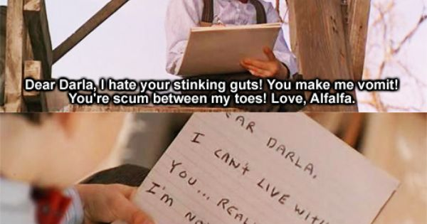 Download Dear Darla, I hate your stinking guts! You make me vomit ...