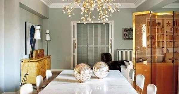 Loving The Glam Hollywood Regency Vibe From This Chic