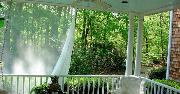 How To Install Mosquito Netting Curtains For A Deck Feels Like Home Pinterest