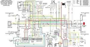 Suzuki Gs550 wiring diagram | Motorcycles | Pinterest