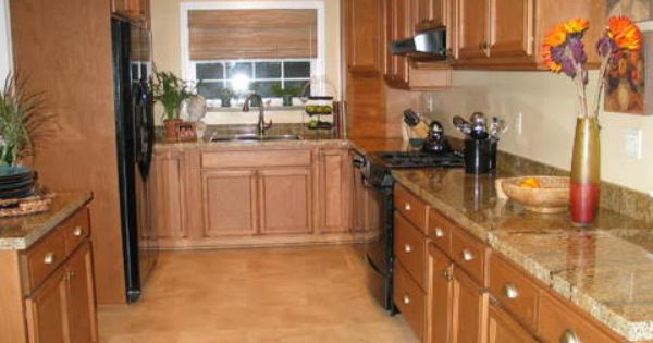 What Color Appliances With Oak Cainets And Black