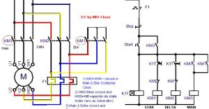 Power Circuit OF STAR DELTA STARTER Electrical Info PICS