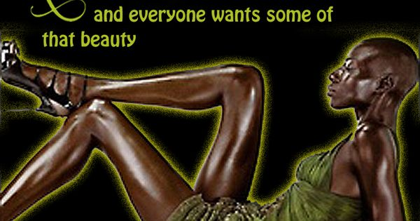 relax your black is beautiful and everyone wants some of
