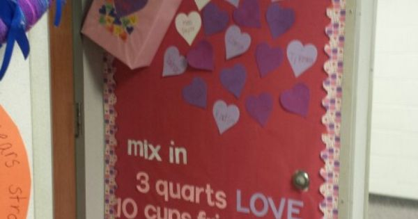 2nd Grade Bulletin Board For Valentines Day Teaching