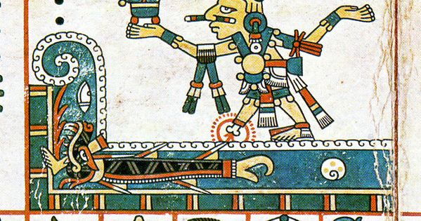 Codex Fejervary Mayer - Xochipilli & Cipactli