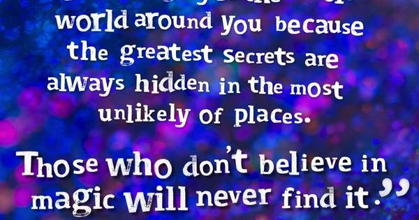 Believe Sayings Quotes And