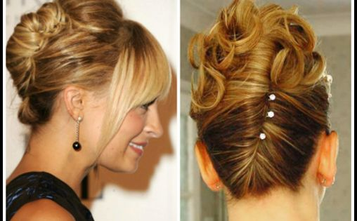 Latest Easy Updos For Thin Hair French Twists Thin Hair