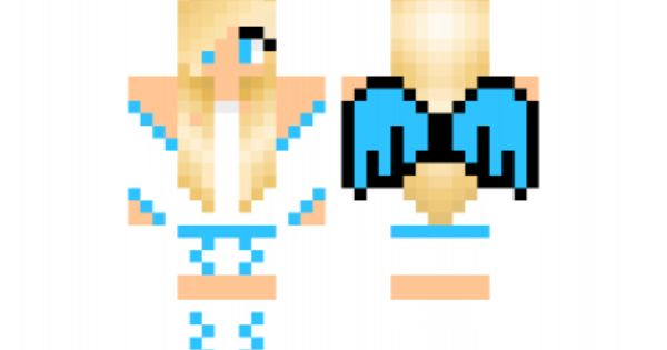 Angel Girl Minecraft Skins Unfolded