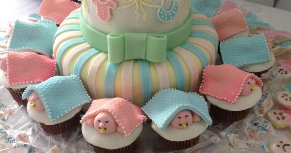 Baby Shower Cake Amp Cupcakes Goldilocks Bakery Party