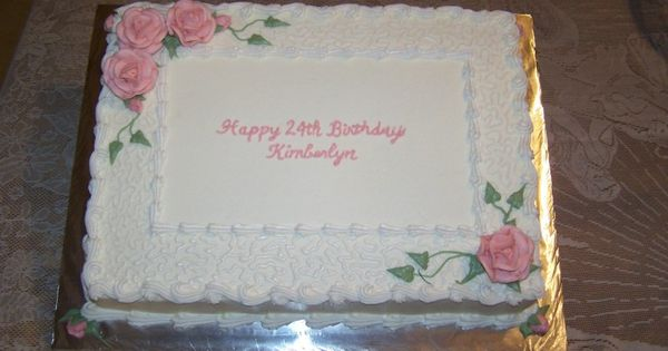 Adult Twins Birthday Sheet Cake Sheet Cake For Kimberlyn