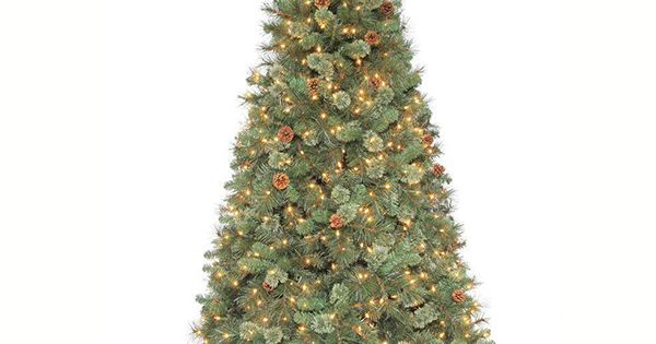 Martha Stewart Living™ 7.5 Ft. Pre-lit Sparkling Pine