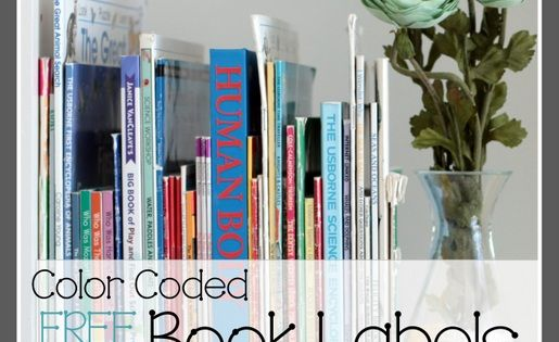 Refernce Book Spine Labels