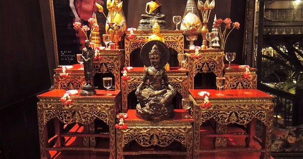 Buddhist Altar Altars Buddhists And Puja Room