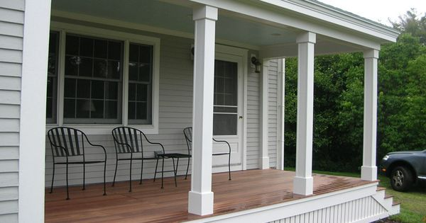 Front Yard Deck Or Patio Ideas