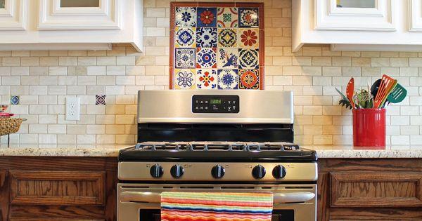Spanish Style Kitchen Design With Saltillo Tile Floors