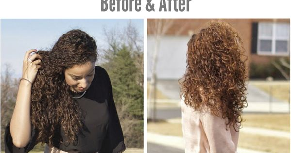 Curly Hair Dye Before Amp After Using Shea Moisture Color