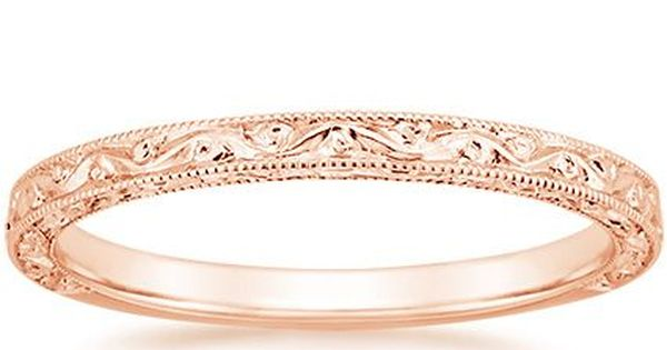 14K Rose Gold Hudson Ring From Brilliant Earth This