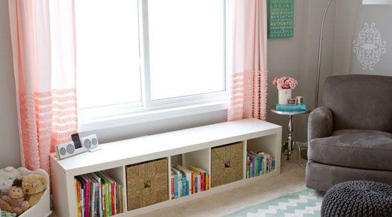 Under Window Storage Bench Nursery Ideas Pinterest
