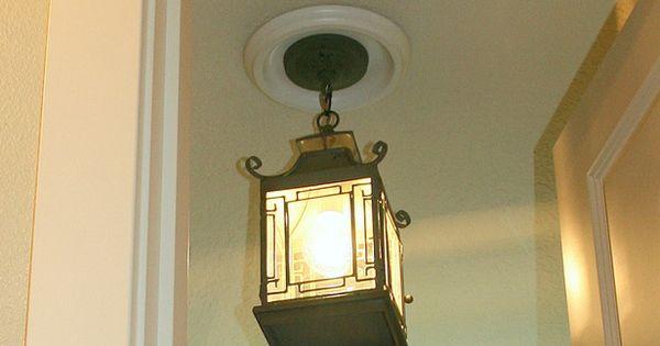 Replace Recessed Light Fixture Pendant