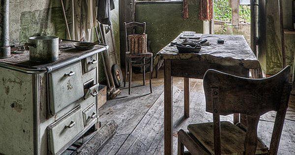 Buckled Floor In Old Farm House Kitchen Farmhouse Dreams