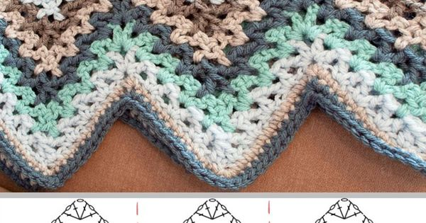 Breaking Amish Crochet Afghan Pattern