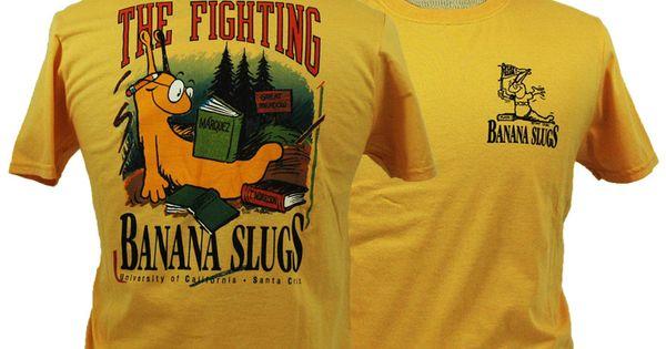 S Slugs Cruz Santa Jersey Uc Banana