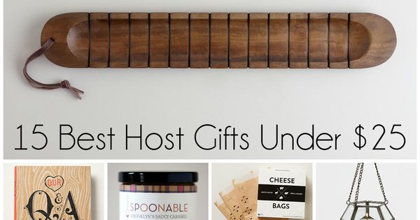 15 Best Host Gifts Under $25 - For Men And Women!