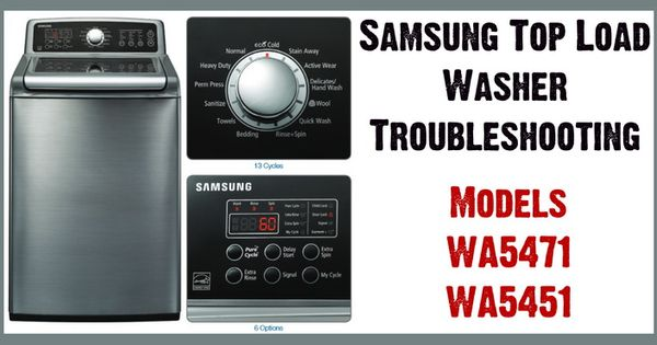 Samsung Top Load Washer Model Wa Wa
