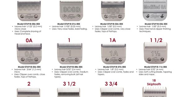 Shop Our Selection Of Clipper Blades Exclusively At