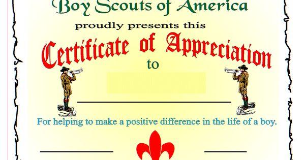 Certificates Bsa Recognition