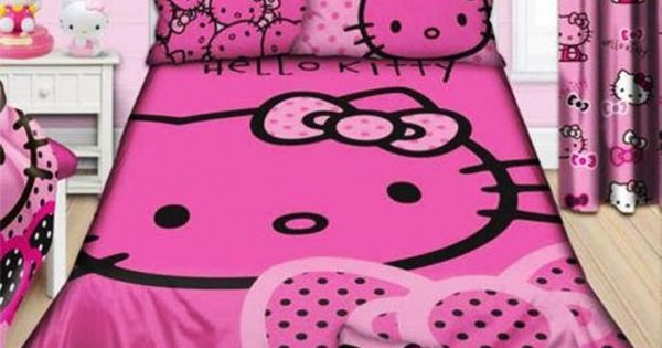 hello kitty bedroom design ideas hello kitty room ideas pinterest - Decoration Hello Kitty Chambre