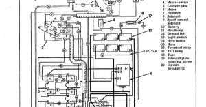 HarleyDavidson Electric Golf Cart Wiring Diagram This is