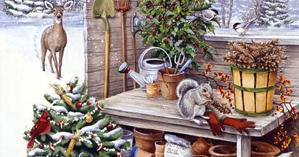 Kathy Goff Artist Google Search Country Winter Scene