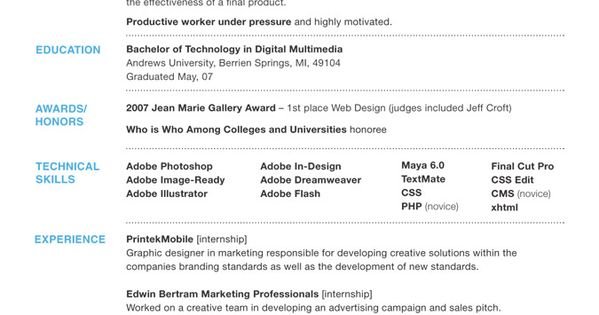 resume ideas that work resume resume design and resume layout