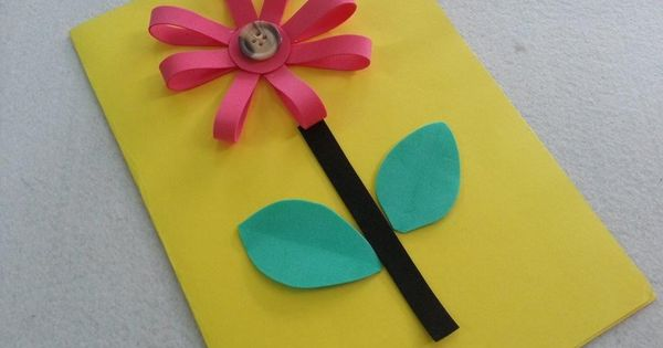 DIY Mothers Day Card For Kids To Make Craft Cards And